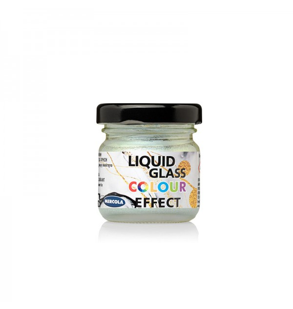 ΧΡΩΣΤΙΚΗ ΓΙΑ ΥΓΡΟ ΓΥΑΛΙ ΛΕΥΚΗ ΠΕΡΛΑ SWAN LIQUID GLASS COLOUR PEARL EFFECT MERCOLA 30ml