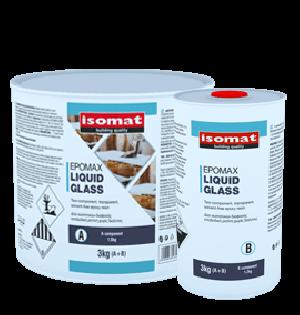 ΥΓΡΟ ΓΥΑΛΙ ΔΙΑΦΑΝΗ ΡΗΤΙΝΗ EPOMAX LIQUID GLASS ISOMAT